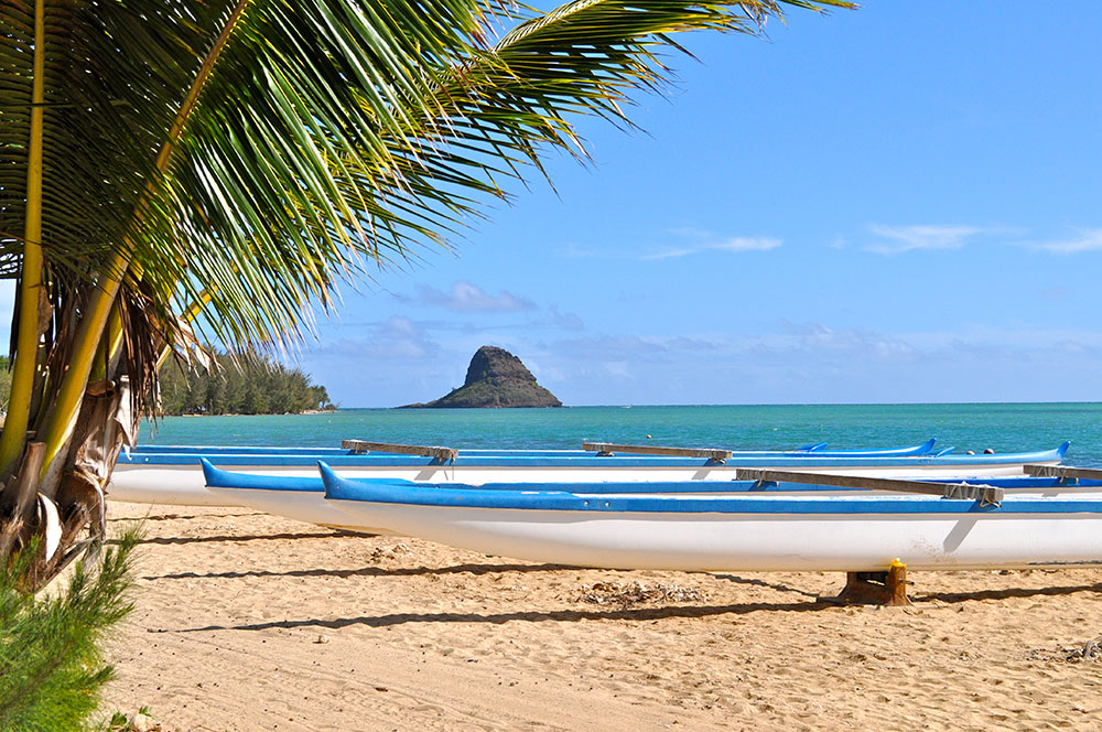 Kim S Beautiful Photo Of Three Canoes On The Sand At Secret Island Beach In Hawaii Was Selected