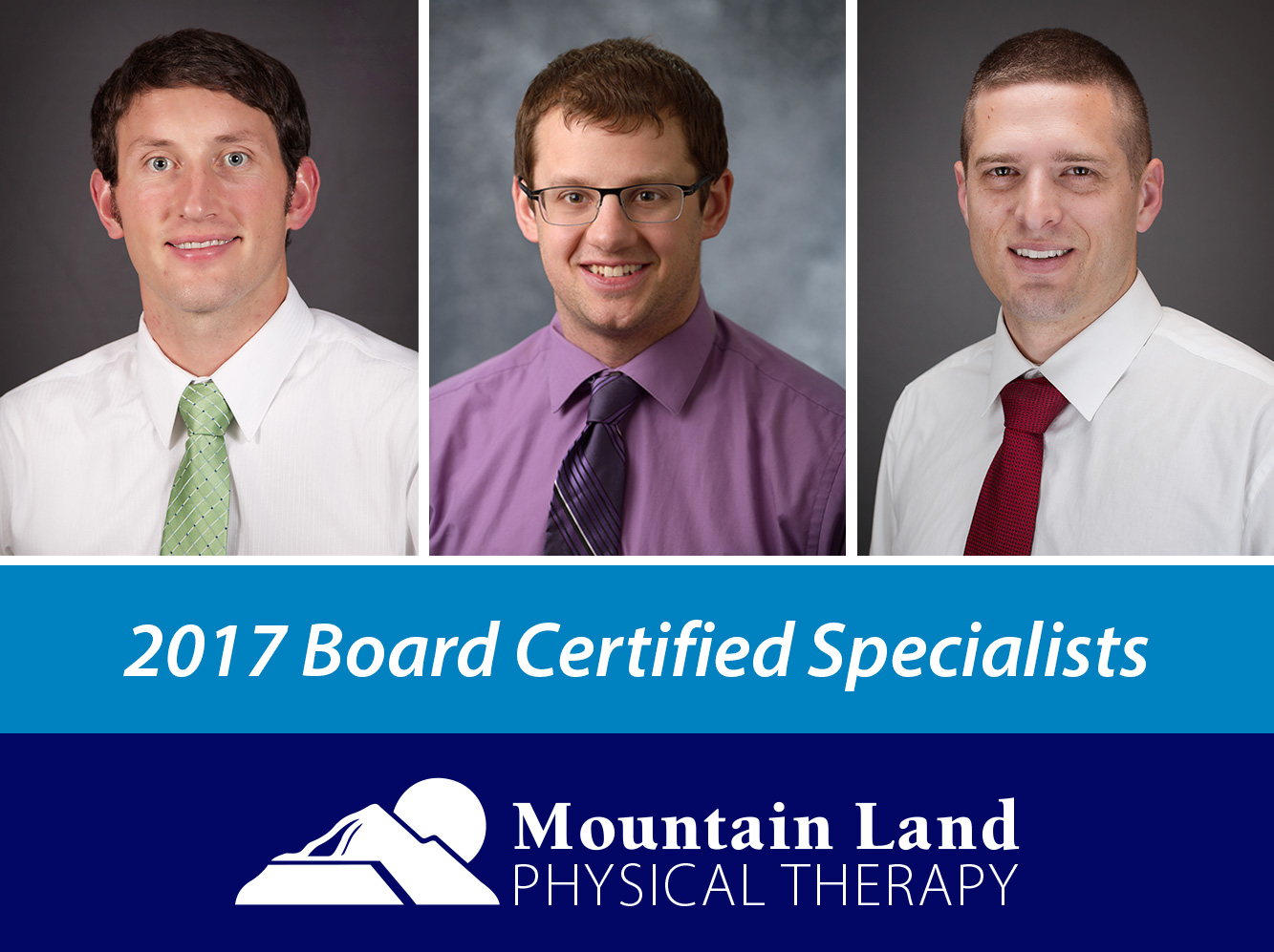 Board Certified Physical Therapists